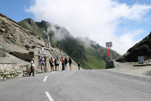 At the top of Tourmalet